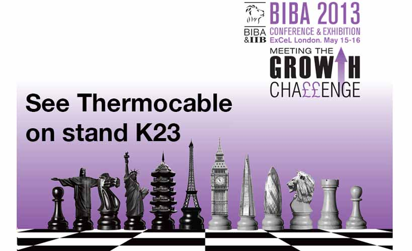 We've lots to share! See you at BIBA 2013?
