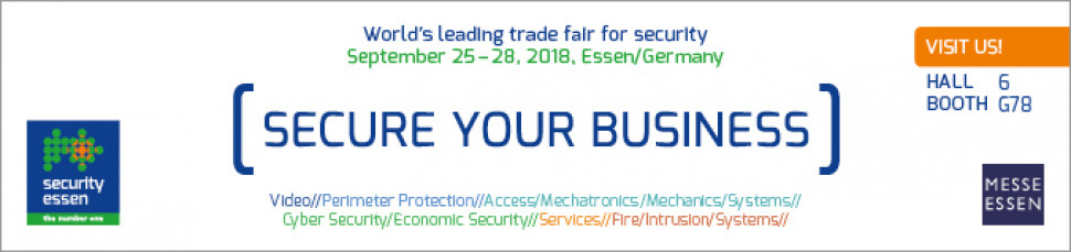 Thermocable is exhibiting at Security Essen 2018